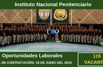 CONVOCATORIA DE TRABAJO EN INPE - MAS DE 115 PUESTOS DISPONIBLES